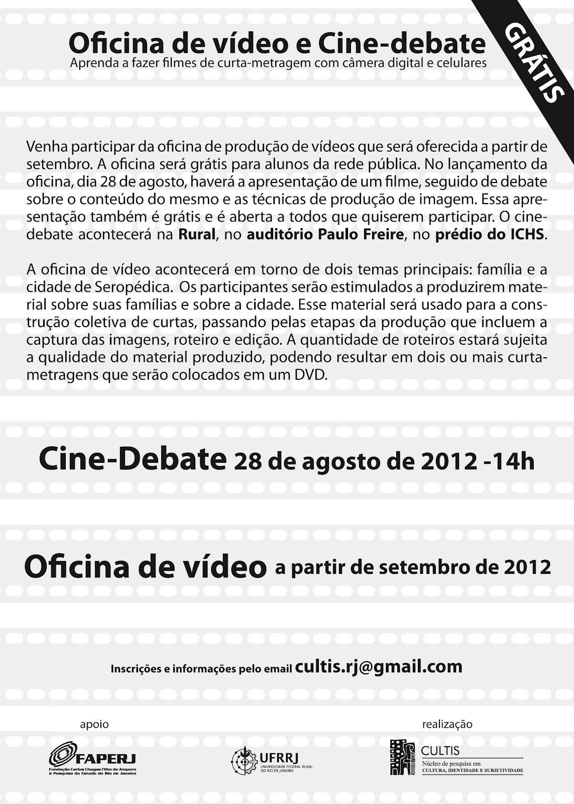 Blog da gradua o cine debate amanh 28 lan a oficina for Horario oficinas caja rural