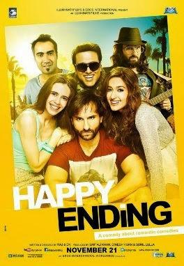 Poster Of Happy Ending 2014 DVDRip