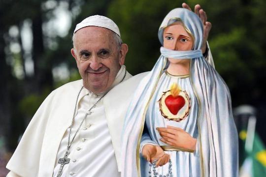 Bergoglio adversario de Cristo.