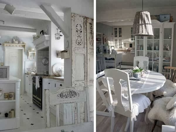 I love casa shabby chic la nuova tendenza country - Casa in stile shabby chic ...