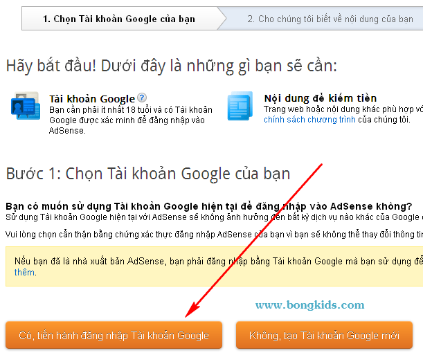 Cách tạo và đăng ký Google AdSense cho Blogspot Blogger 11