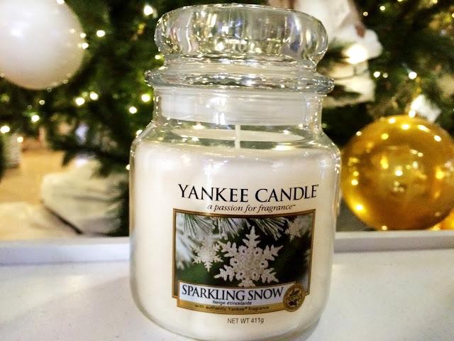 Avis sparkling snow yankee candle
