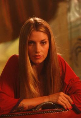 Dawn Olivieri in red, Beautiful woman, Hollywood actress, sexy woman