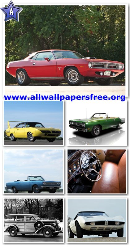 80 Amazing American Classic Cars Wallpapers 1280 X 1024 [Set 19]