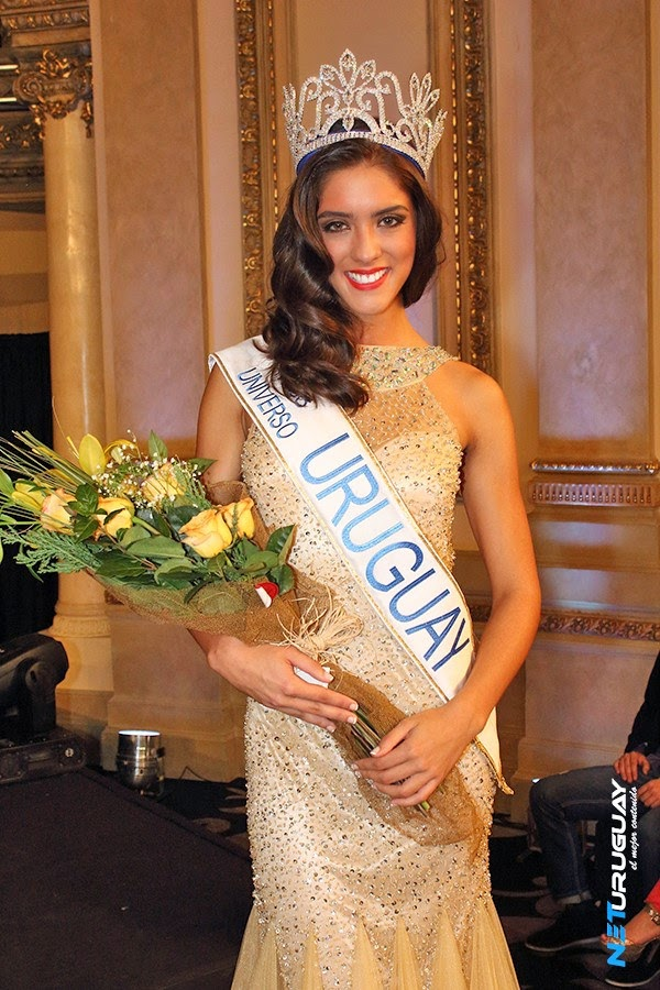 Miss Universo Uruguay 2015 winner is Bianca Sanchez