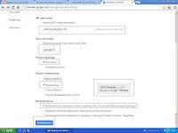 Настройка гаджета переводчик для блога-настройка и код для установки гаджета переводчик
