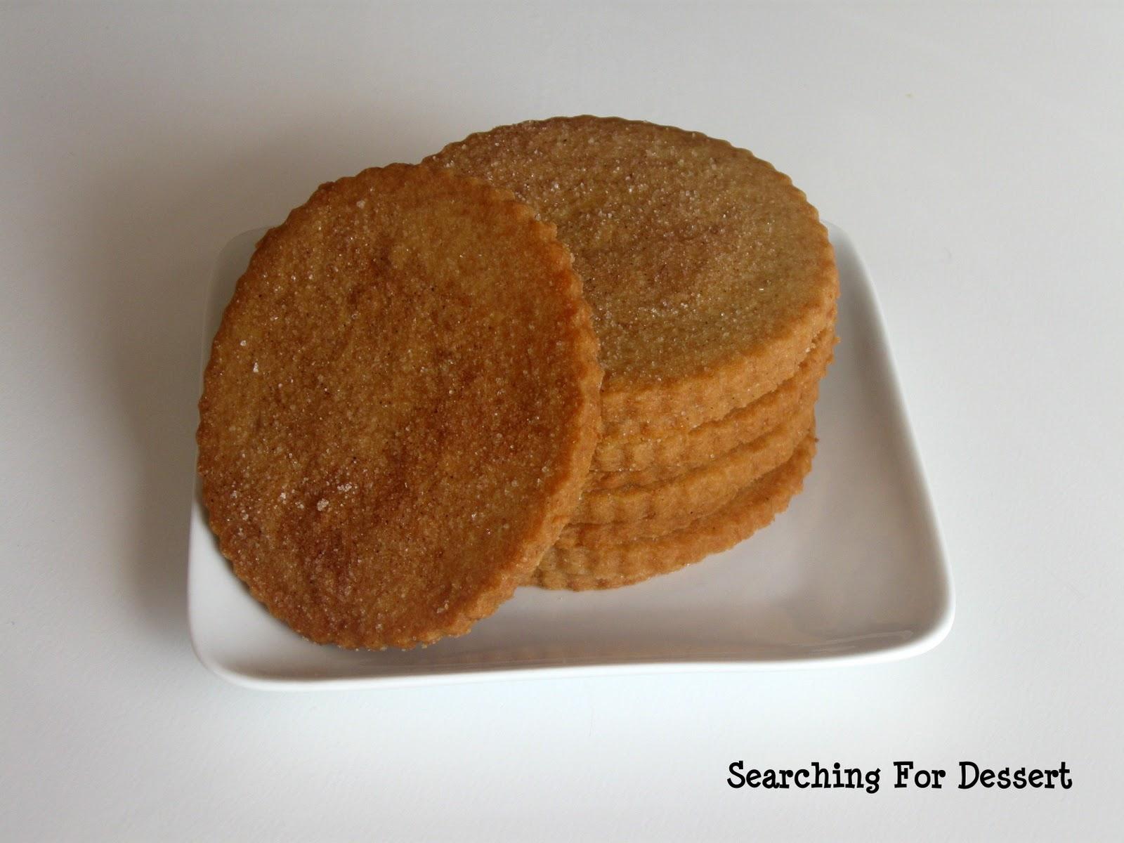 Cinnamon-Sugar Graham Crackers | Searching for Dessert