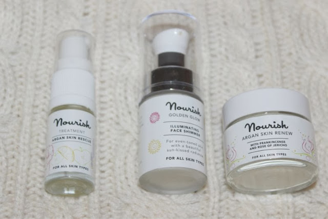 The Nourish Argan Beauty Collection