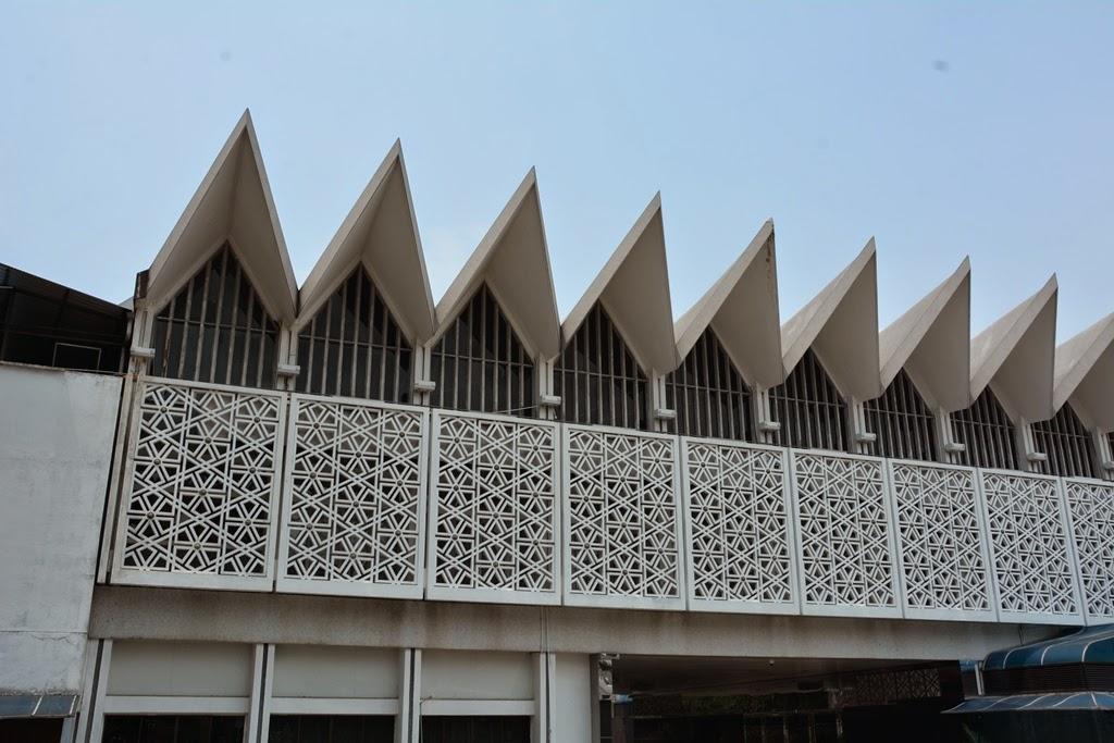 National Mosque Kuala Lumpur roof