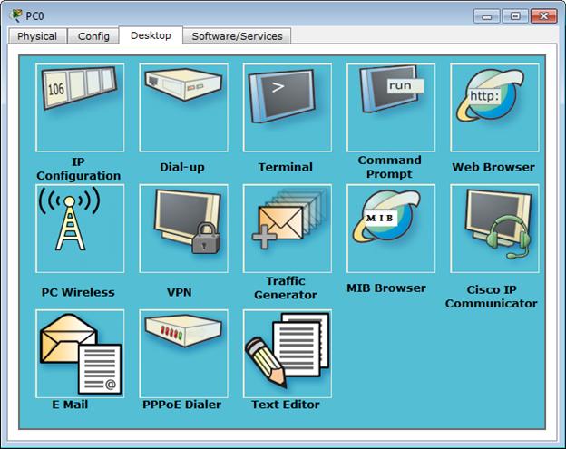 Konfigurasi PC0