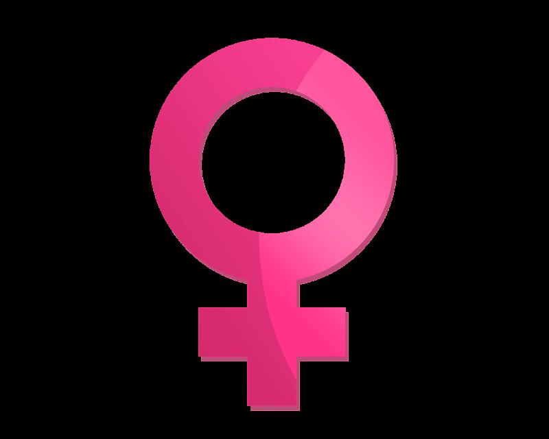 Símbolos: Feminino & Masculino title=