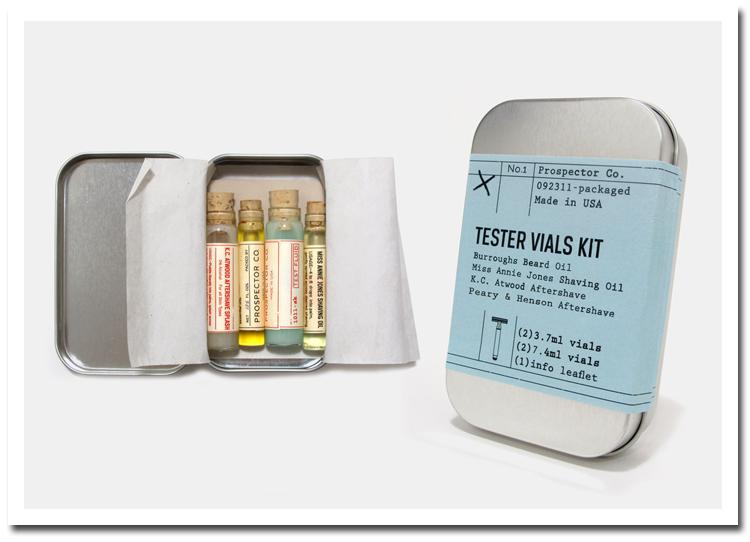 Prospector Co. - tester kit