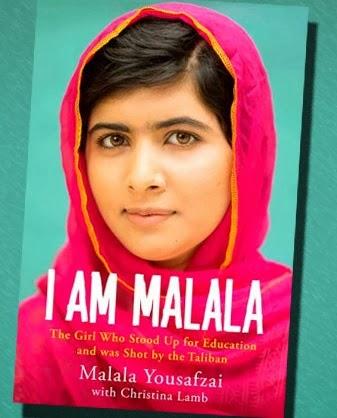 I am Malala Book title