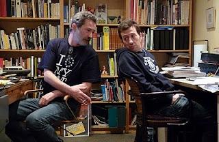 Els autors treballant