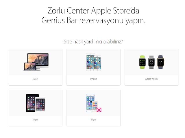 Apple Store Randevu Alma Teknikleri 2016
