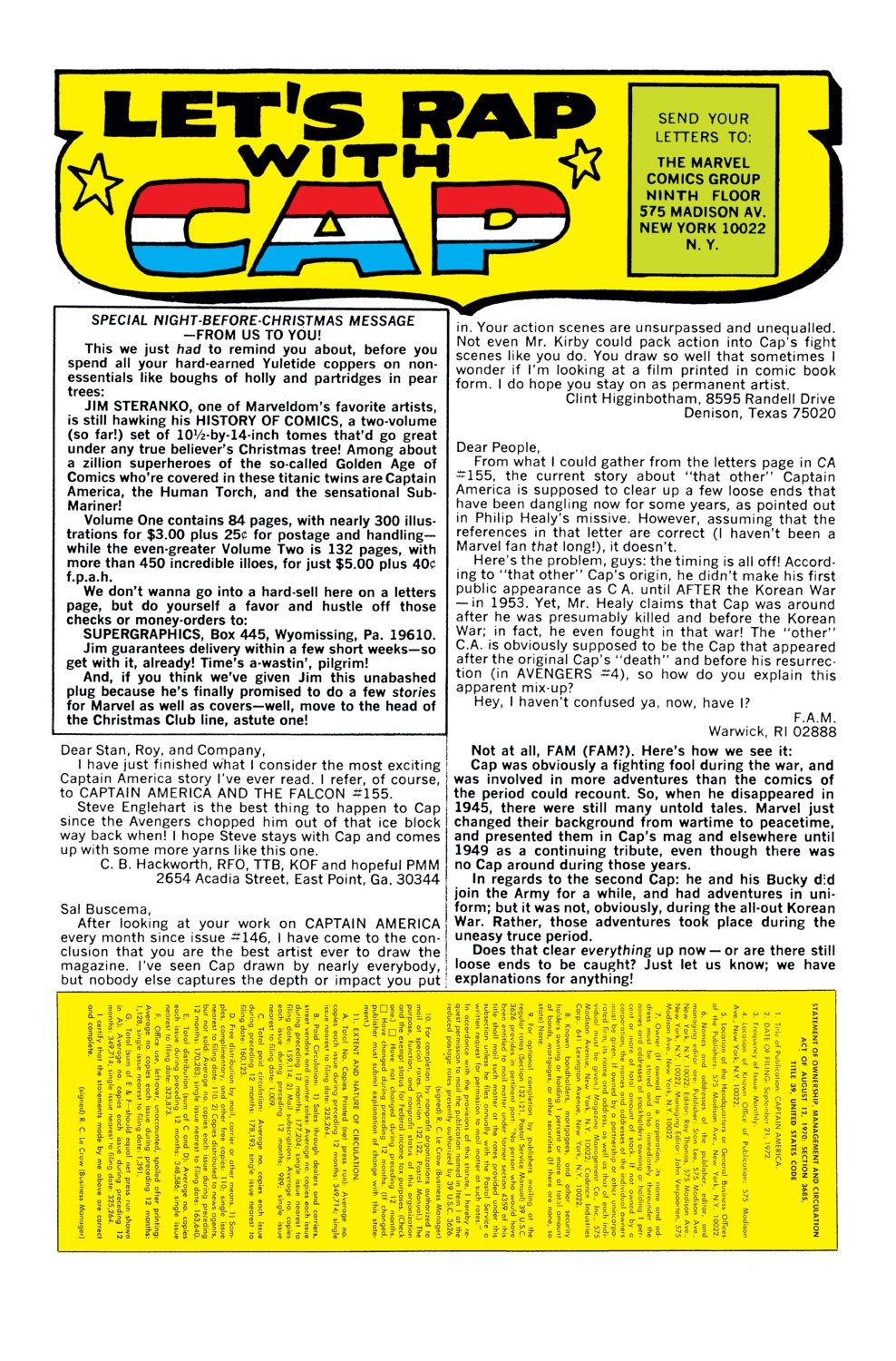 Captain America (1968) Issue #159 #73 - English 23