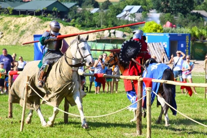 A tutaj to, co nasze konie robią zawodowo: