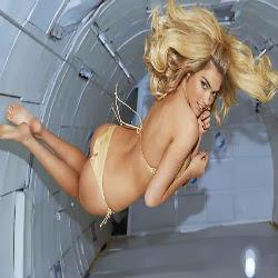 Kate Upton faz ensaio sensual em gravidade zero; veja fotos