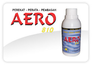 AERO-810 merupakan perekat-perata-pembasah terutama bagi pestisida (fungisida-insektisida-herbisida) juga untuk pupuk cair dengan fungsi