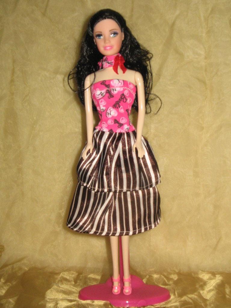 Model Baju Pesta Ala Barbie Cantik Dan Lucu Model Baju Lidays Oo