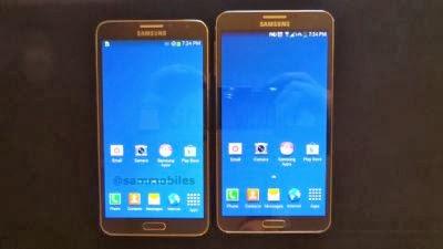 A confronto i display tra i due ultimi phablet android di ultima generazione Samsung