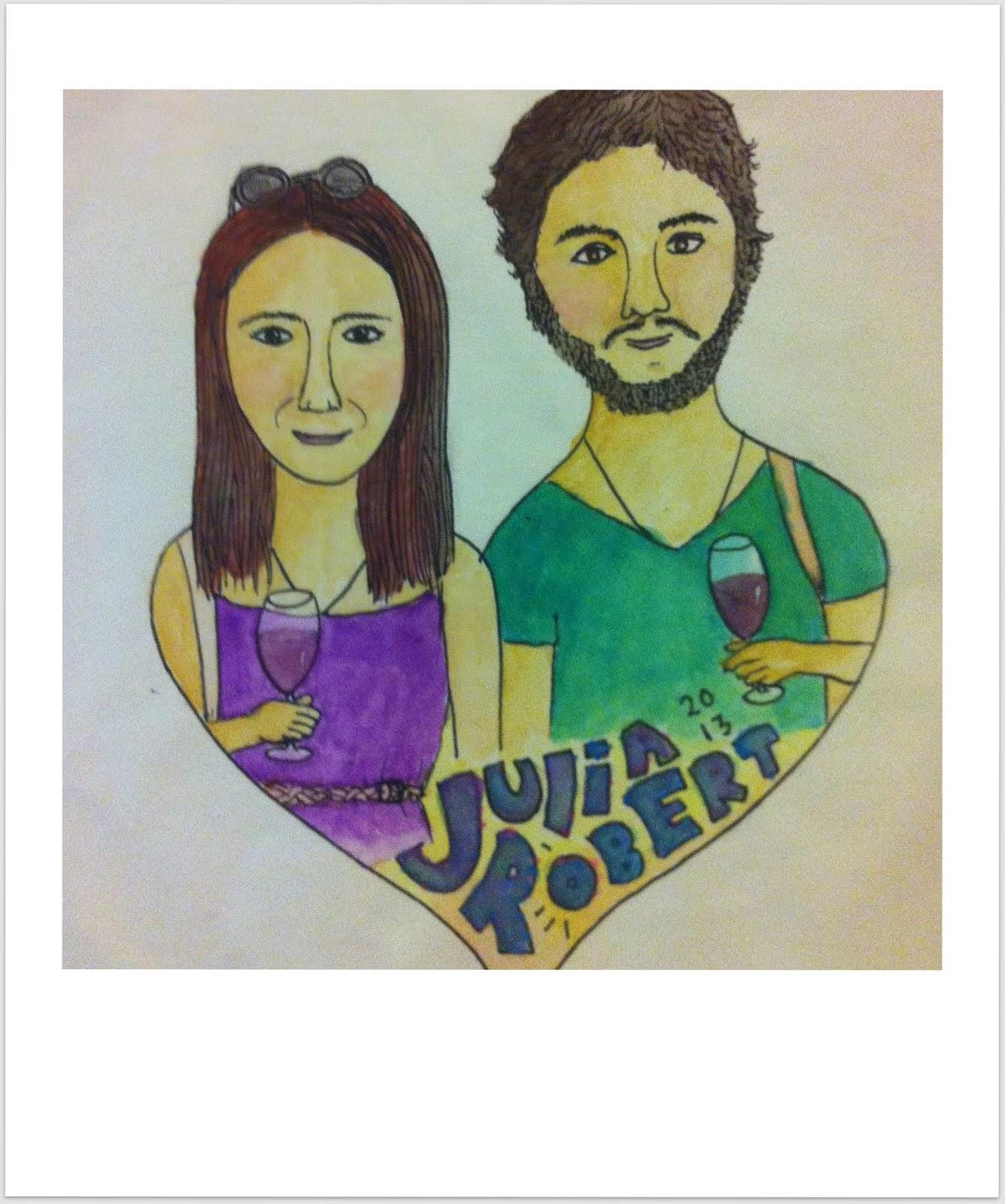 Von Julia und Robert, die auszogen, die Welt zu entdecken...