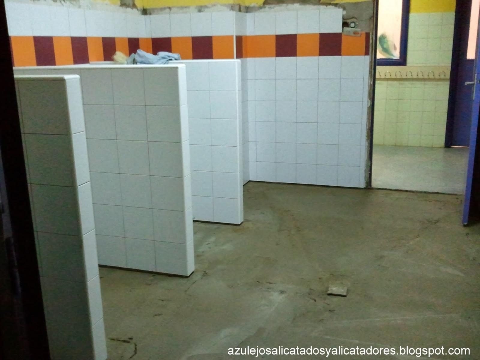 Azulejos alicatados y alicatadores cantonera for Lechada azulejos bano
