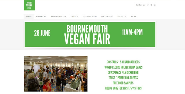 Bournemouth Vegan Fair 28 June 2015