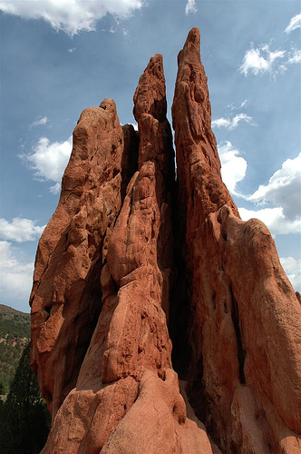 A Geographical Look At The Garden Of The Gods Weathering 39 S Effect On The Garden