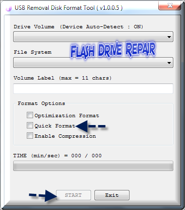Download USB Removal Disk Format Tool 2014