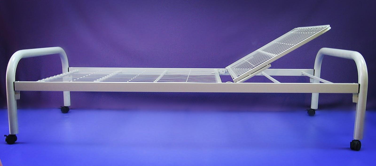14. Basic hospital bed manual single fowler without crank 手调單搖床 家居護理床