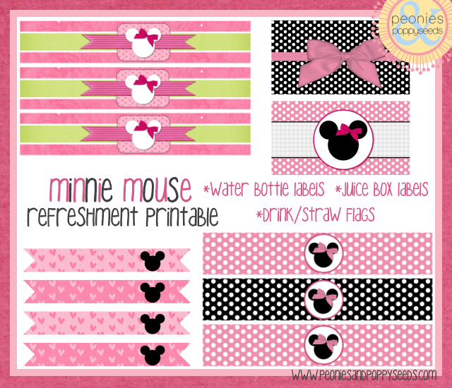 peewee 39 s n 39 pinwheels product of the week having a minnie mouse party. Black Bedroom Furniture Sets. Home Design Ideas
