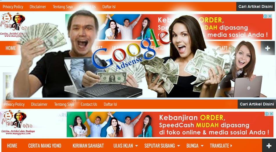 Mau mendapatkan 30 dollar per hari di Google Adsense?.
