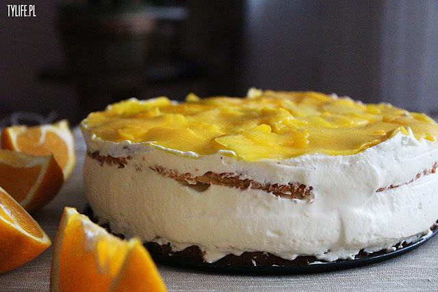 tort mango z masą smietanowa mascarpon