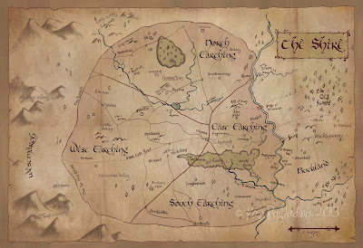 The Shire Map