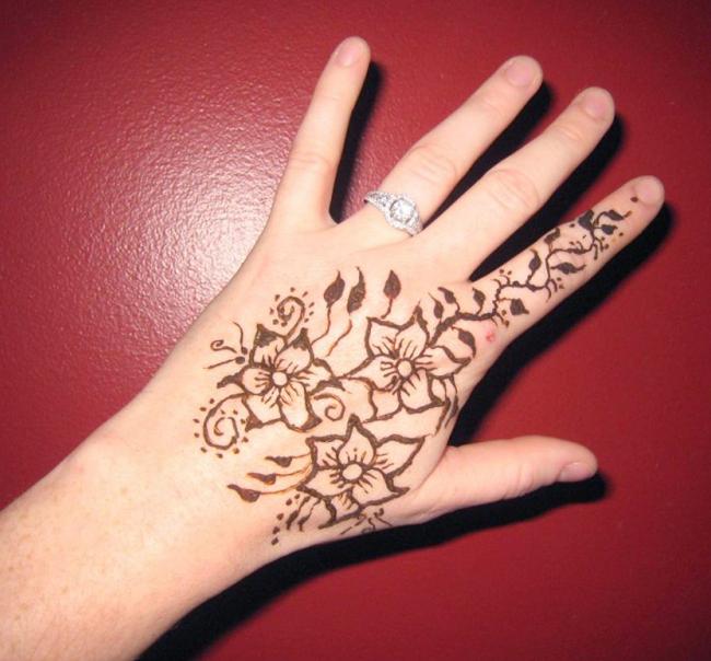 Cool Mehndi Patterns : Only women secrets super cool back hands mehndi designs