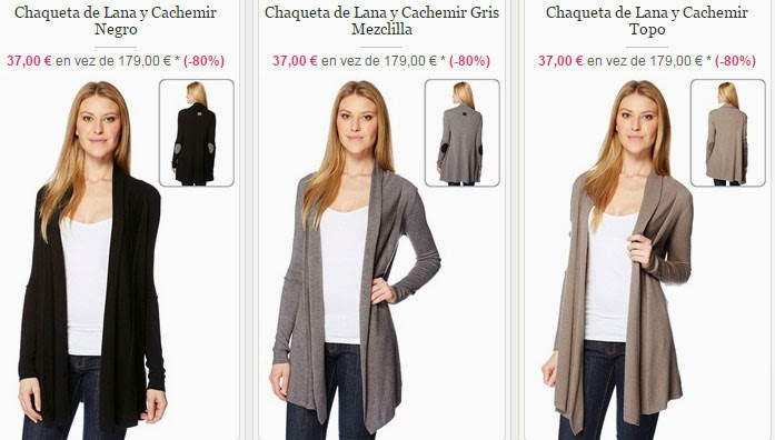 Tres ejemplos de chaquetas muy baratas de esta oferta