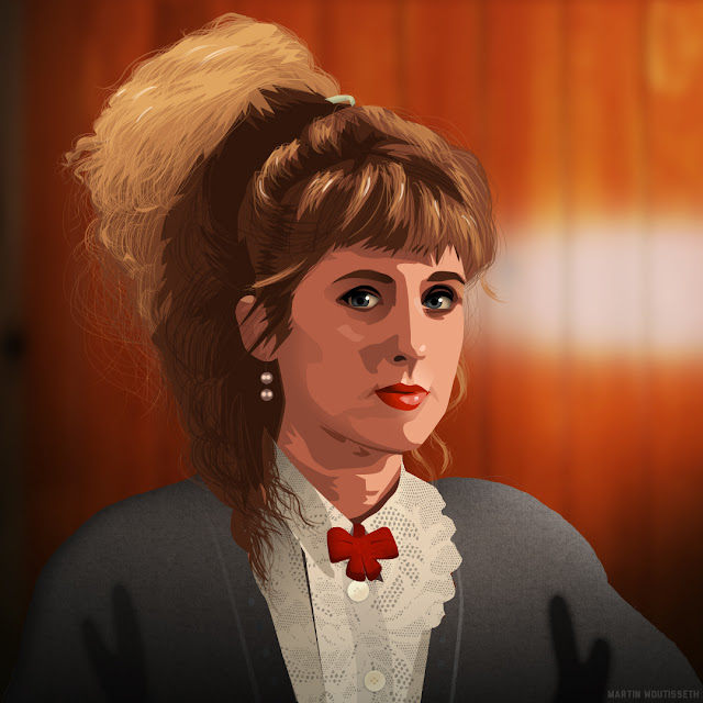 Twin peaks illustrated - Lucy Moran