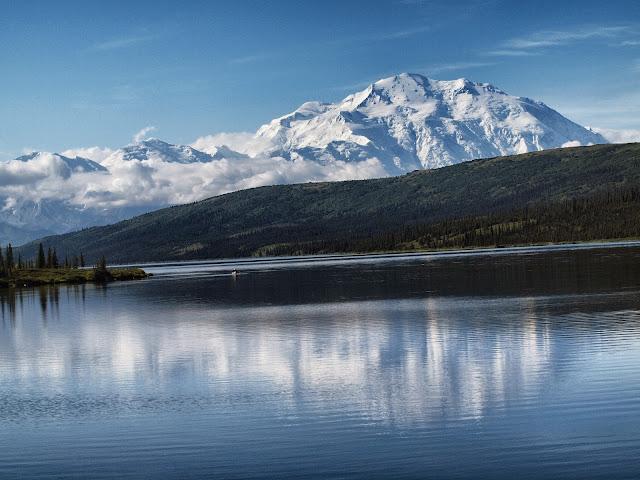 Mt. Denali - Wonder Lake, Denali National Park, Alaska, #MtDenali, #MtMcKinley, #Denali, #Alaska, #WonderLake