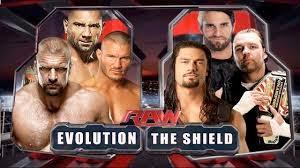 evolution vs the shield