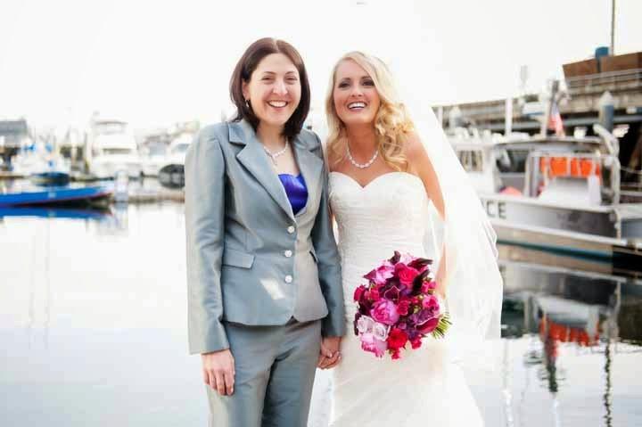 Flora Nova Design, Seattle wedding, same sex marriage, marriage equality, same love, one love