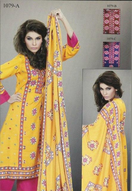 Lala Textiles Turkish linen winter collection 2012-2013 for women