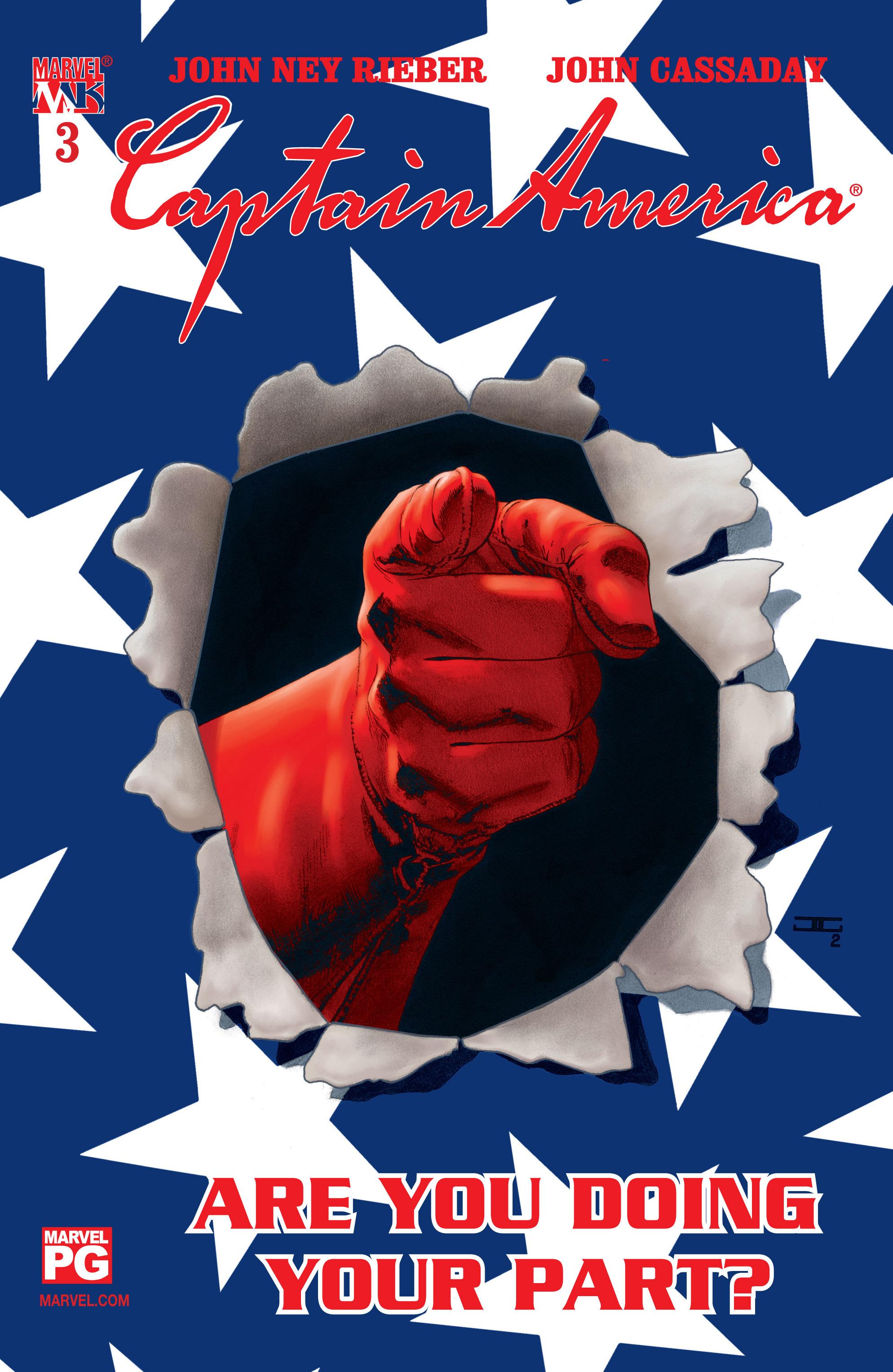 Captain America (2002) Issue #3 #4 - English 1