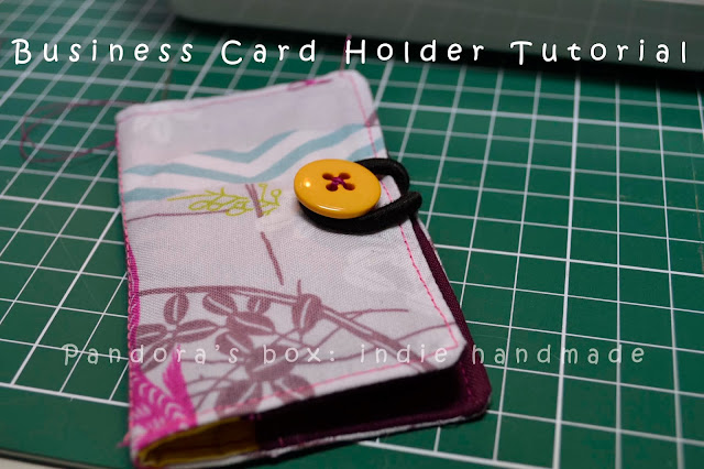 Business Card Holder Tutorial