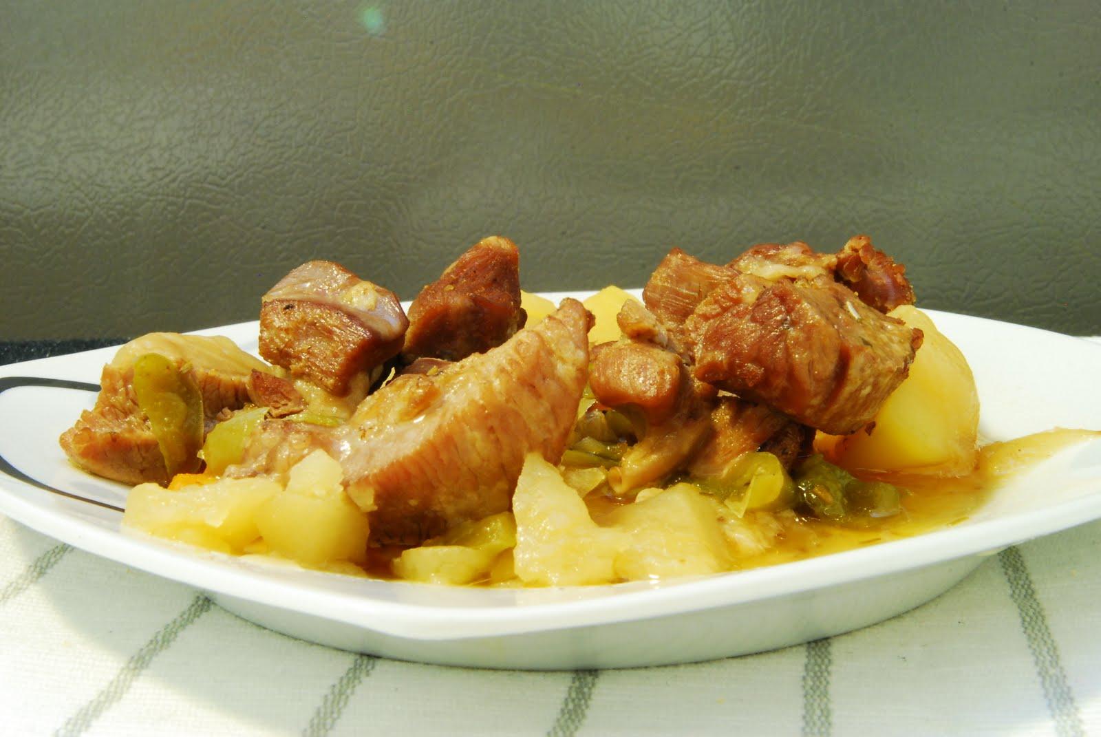 Mmmm esta hay que repetirla pavo guisado en la olla r pida - Cocinar con olla express ...