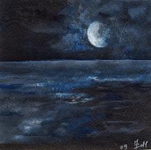 Cronache di colori - la luna e il mare