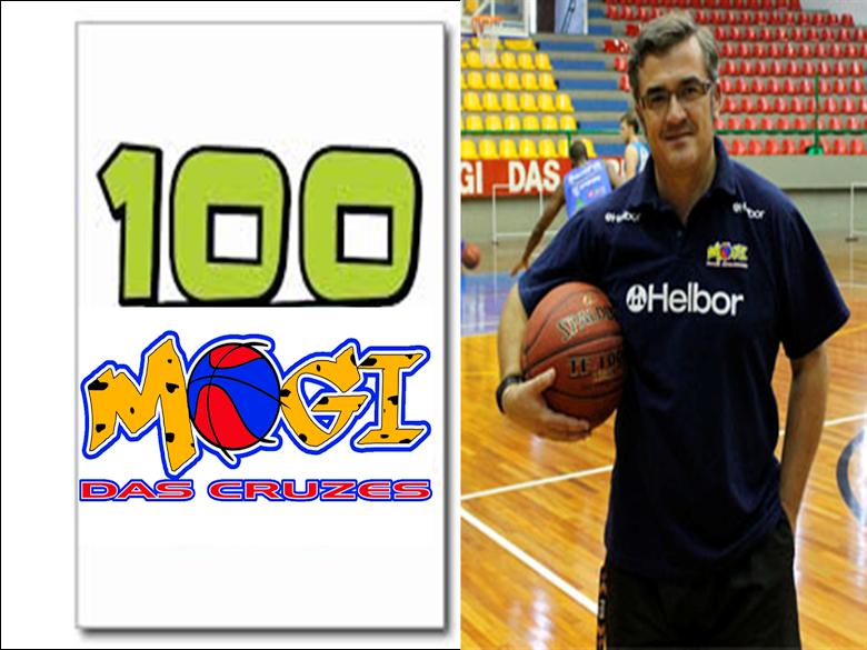 100 partidos como Entrenador en Mogi das Cruzes