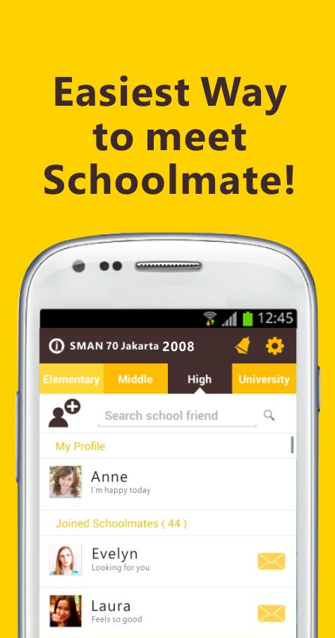 Join Alumni & School Friends