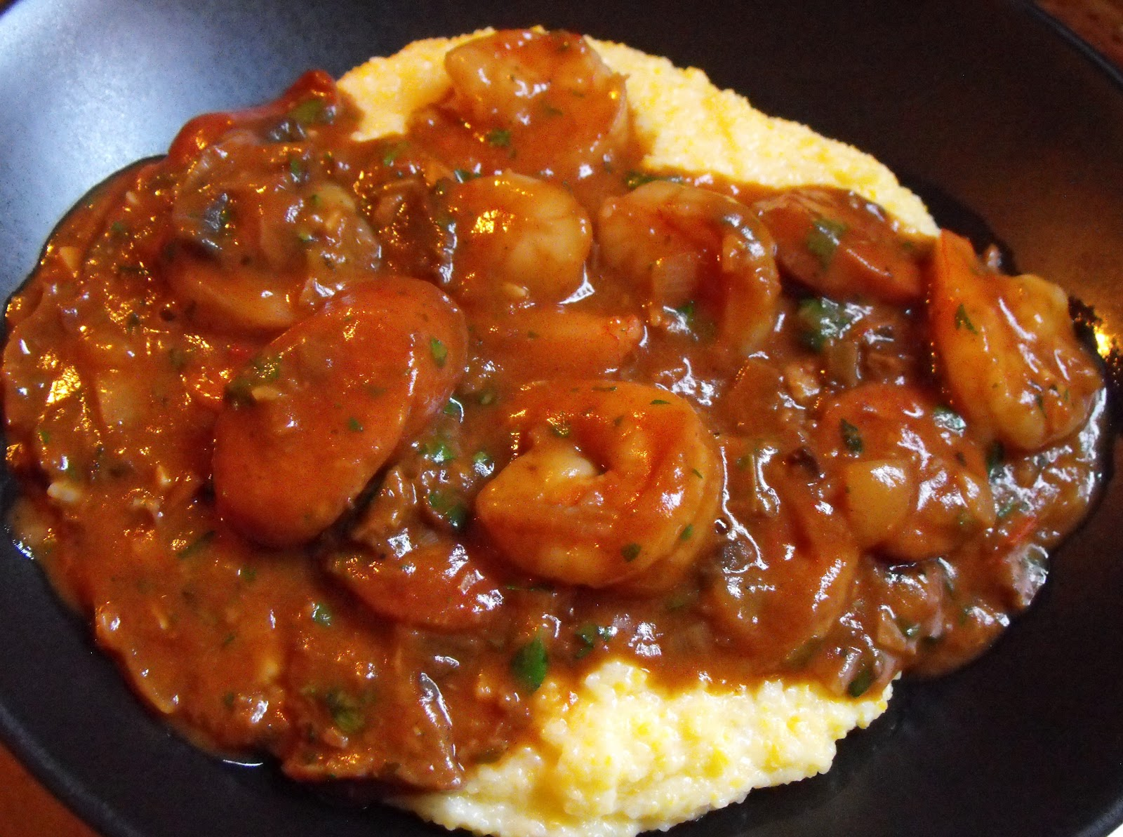 GrowCookPreserve: Shrimp and Grits with Andouille