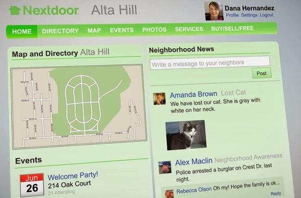 ABD'nin yeni trendi: Mahalleye özel sosyal ağ